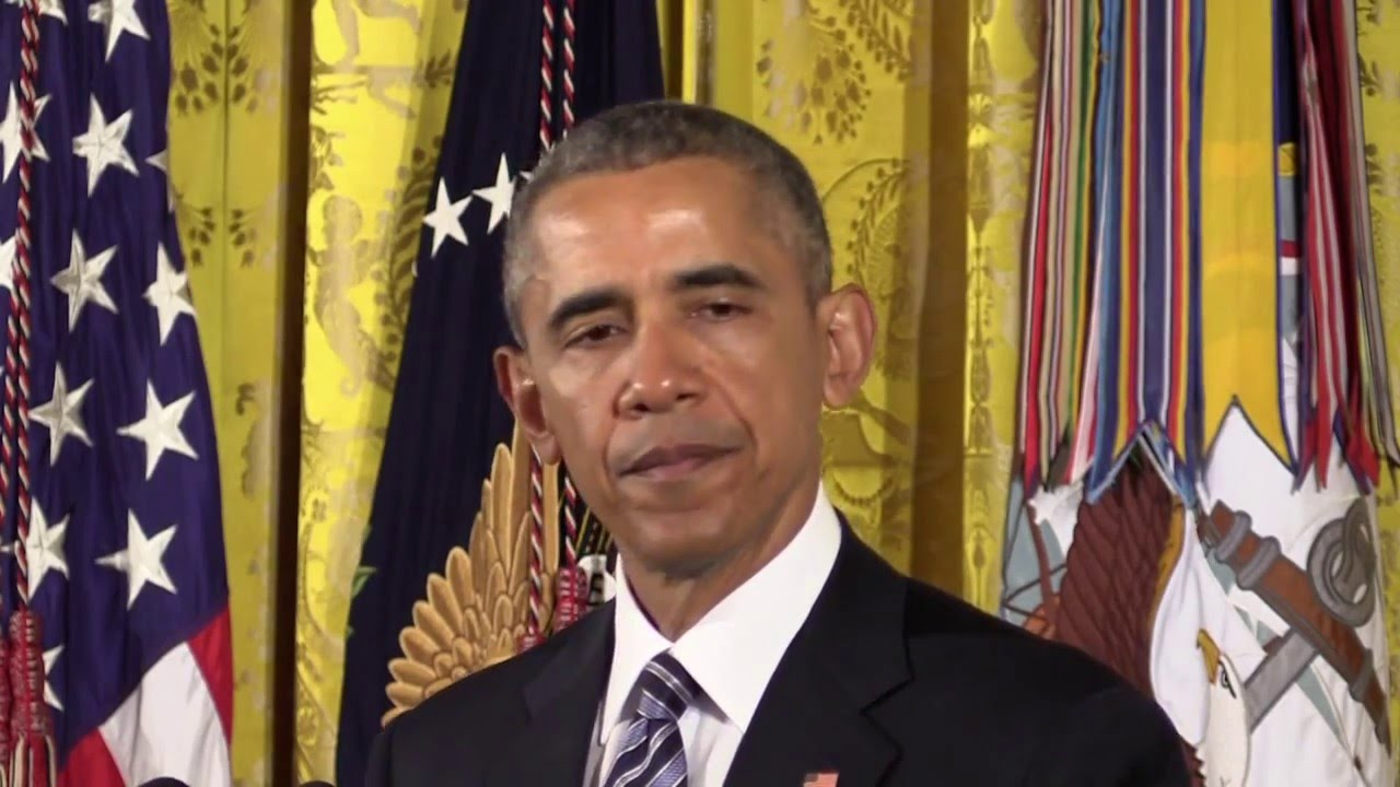 VIDEO: President Obama Awards Medal of Honor to Navy SEAL
