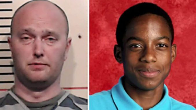 Roy Oliver (left) was indicted by a grand jury for the murder of Jordan Edwards