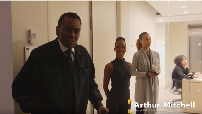 Arthur Mitchell, Founder of Dance Theatre of Harlem, Grand Marshal 2018 African American Day Parade (Source: YouTube)