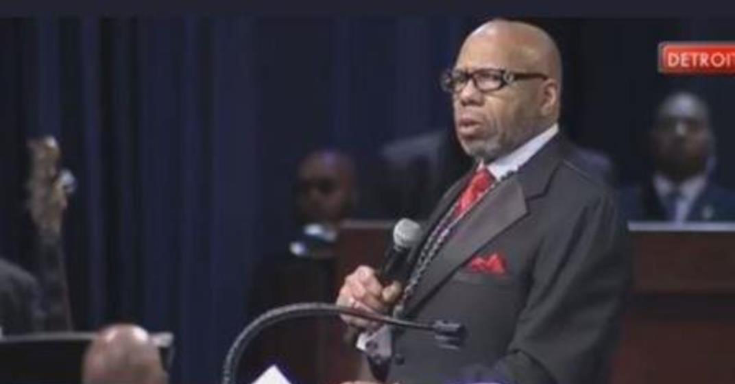 """Rev. Williams referenced black-on-black crime, said single mothers are incapable of raising sons alone and proclaimed that black America has lost its soul and it's """"now time for black America to come back home."""""""
