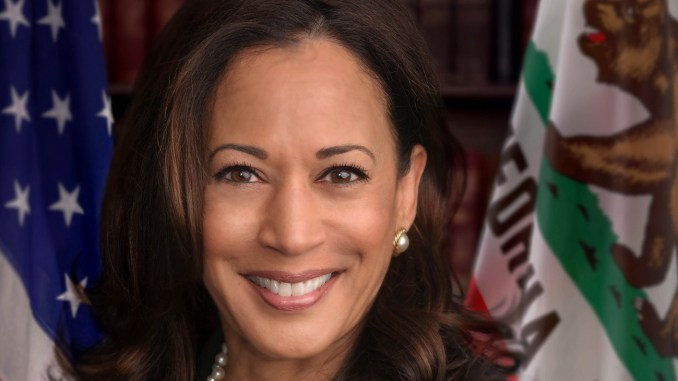 Official photo of United States Senator Kamala Harris (D-CA).