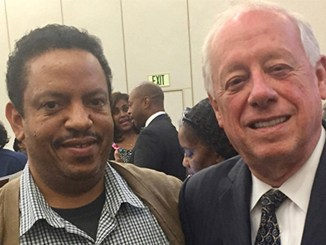 Thomas Sheffield, left, and Phil Bredesen