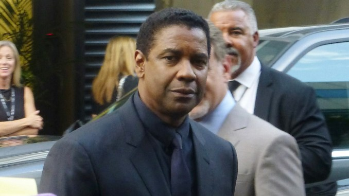 Denzel Washington at the press conference of The Magnificent Seven, 2016 Toronto Film Festival