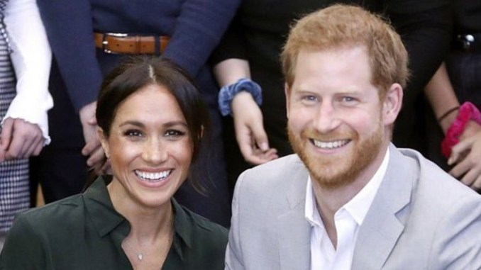 The Duke and Duchess of Sussex announced Oct. 15 they're expecting a baby due in spring. (Courtesy Photo)