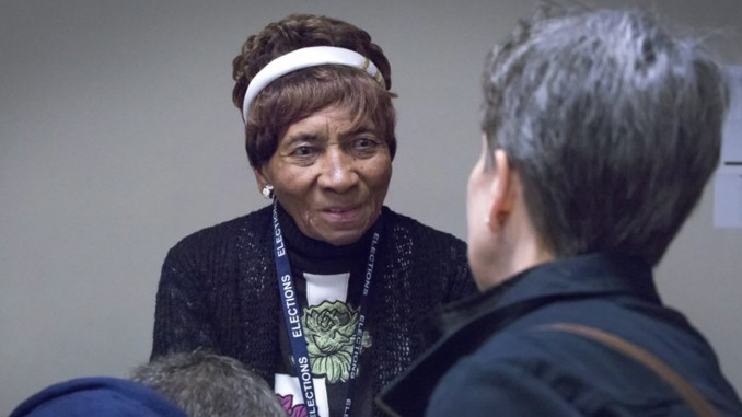 Laura Wooten has witnessed history at the ballot box working as a volunteer for nearly 80 years. (Image courtesy Laura Wooten)