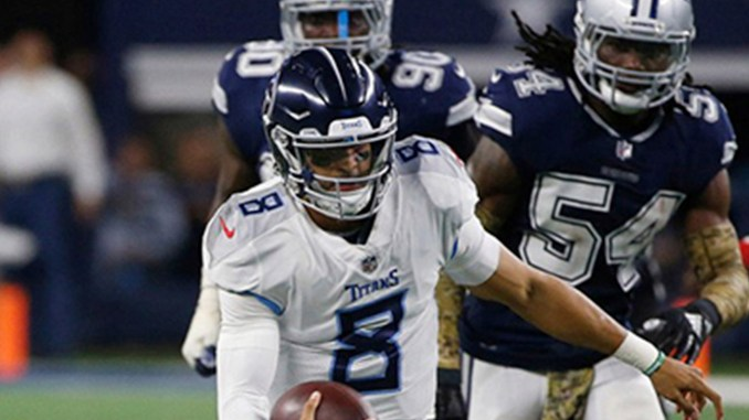 The Titans snapped a three-game losing streak Monday night, against the Dallas Cowboys. Photo by Ron Jenkins