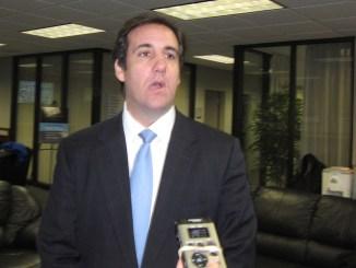 Former personal attorney to Donald Trump, Michael Cohen (Photo: IowaPolitics.com via Wikimedia Commons)