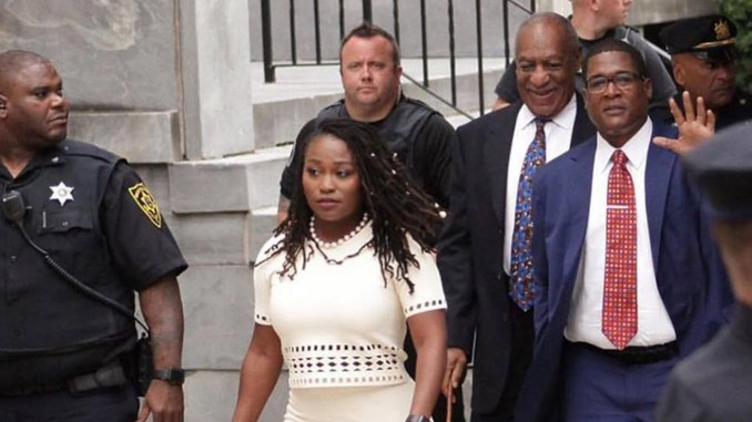 """""""Bill Cosby was tried and convicted without any actual evidence that his 'crimes' had ever been committed, no police reports, no medical records, no collaborating witnesses, just the accusations of white women recalling events that occurred 30 years in the past…""""— Bob Law, National Black Leadership Alliance"""