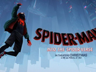 Spider-Man Into The Spider-Verse poster