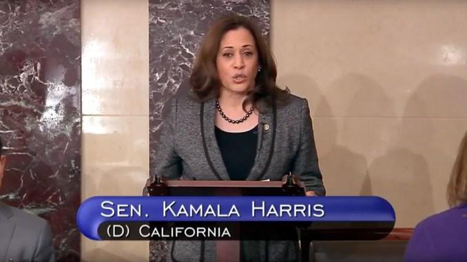 Senators Booker and Harris Speak on Senate Floor During Passage of Anti-Lynching Bill (Photo: Screencapture – YouTube)