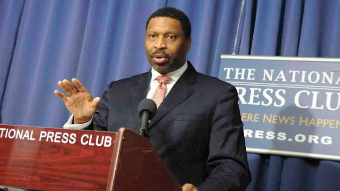 """""""We must continue to stay vigilant and not let this administration use yet another mechanism to devalue and stifle the voices of people of color,"""" says NAACP President and CEO Derrick Johnson"""