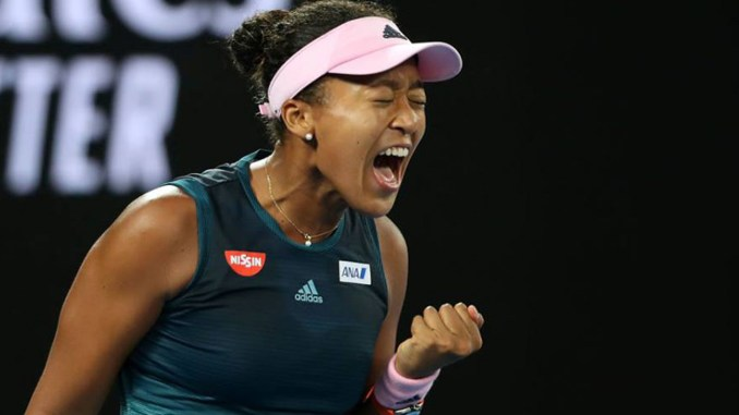 Osaka guts out a win back-to-back Grand Slam championships (WTA Facebook)