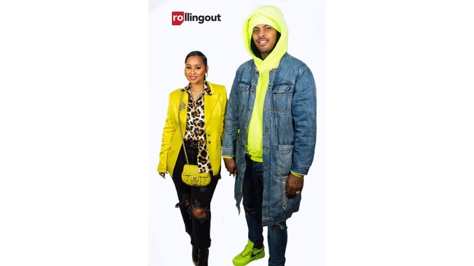 Waka Flocka and Tammy Rivera (Photo credit: Torian Priestly for Steed Media)
