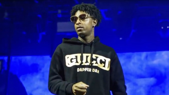(Photo: Rapper 21 Savage / ABC News / YouTube)