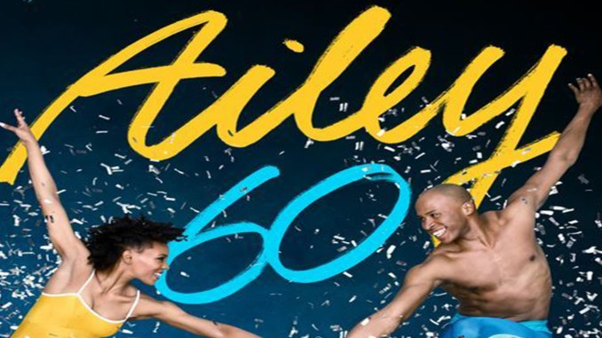 Alvin Ailey American Dance Theater performed at the John F. Kennedy Center for the Performing Arts in Northwest, Washington, D.C. Feb. 5-10. This photo features the District's own Samantha Figgins and Jeroboam Bozeman. (Photo by Andrew Eccles  Courtesy Photo)