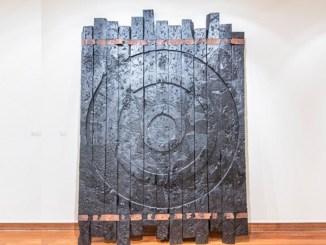 Black Don't Crack But It Sho' Catch Hell by Wesley Clark in the Van Vechten gallery of Fisk University.