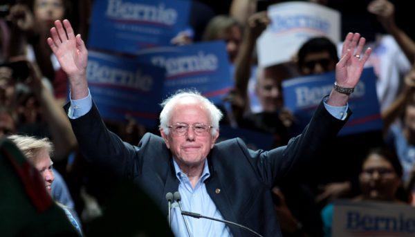 Bernie Sanders speaks at an event in Phoenix in July 2015. (Gage Skidmore/Wikimedia Commons)