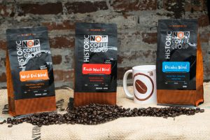 Historic Noir Coffee Group Blends (Photo Credit: Christopher Brown)
