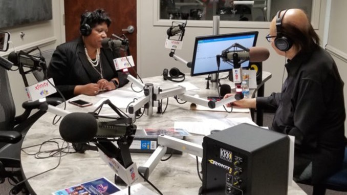 Lori Roper, Supervisor of attorneys in the Public Defender's office Veterans Treatment Court, fielded listeners' questions along with America's Heroes host Cliff Kelley during the March 30 show.