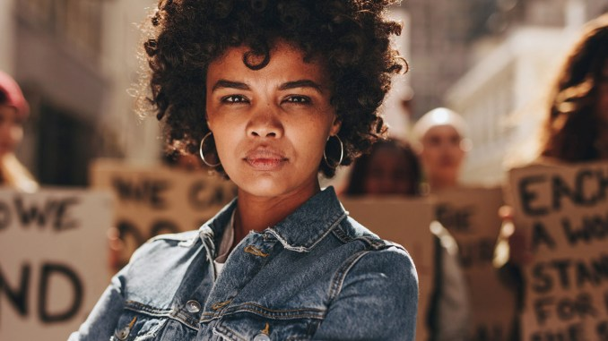 "Black women sit at the nexus of race and gender and are buffeted by the twin spectres of these ""isms"", and struggle upstream against a current of prejudice and bias which is compounded by gender and race. (Photo: iStockphoto / NNPA)"