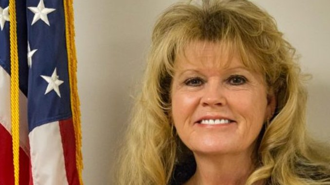 Mayor Theresa Kenerly. (Photo via Hoschton, Georgia.)