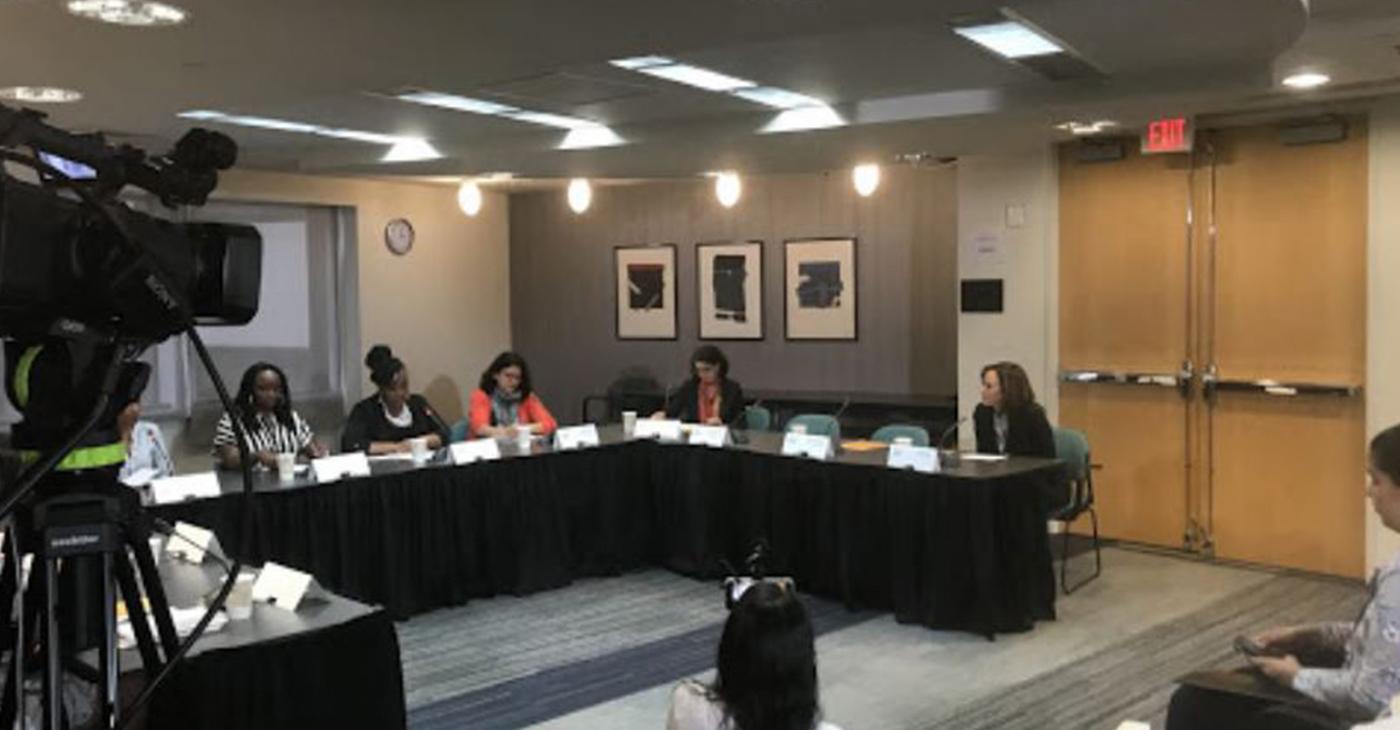 Mothering Justice Hosts Women Legislators