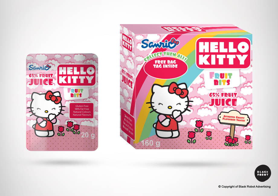 Hello Kitty Premium Sweets and Packaging