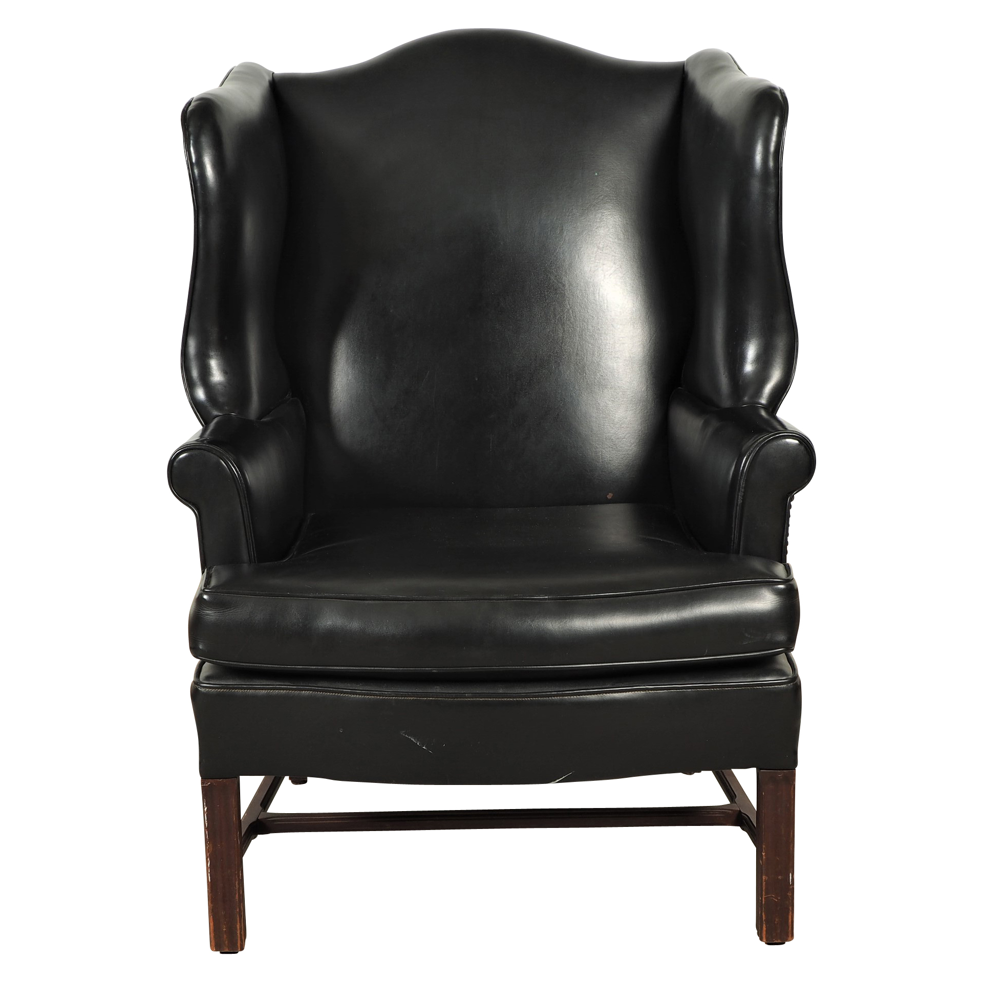 black leather wingback chair ikea bedroom hanging wing rock galleries
