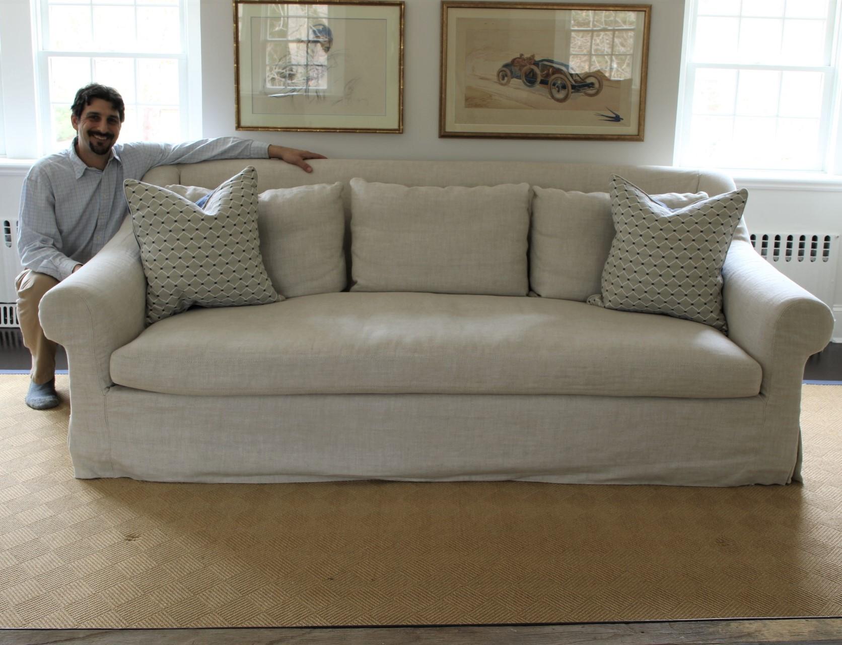 restoration hardware sectional sofa linen bett beautiful with ryan studio