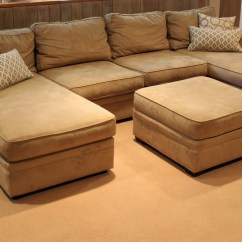 Pottery Barn Leather Sofa Cleaning Mart Springfield Il Sutter Street Double Chaise Sectional Plus