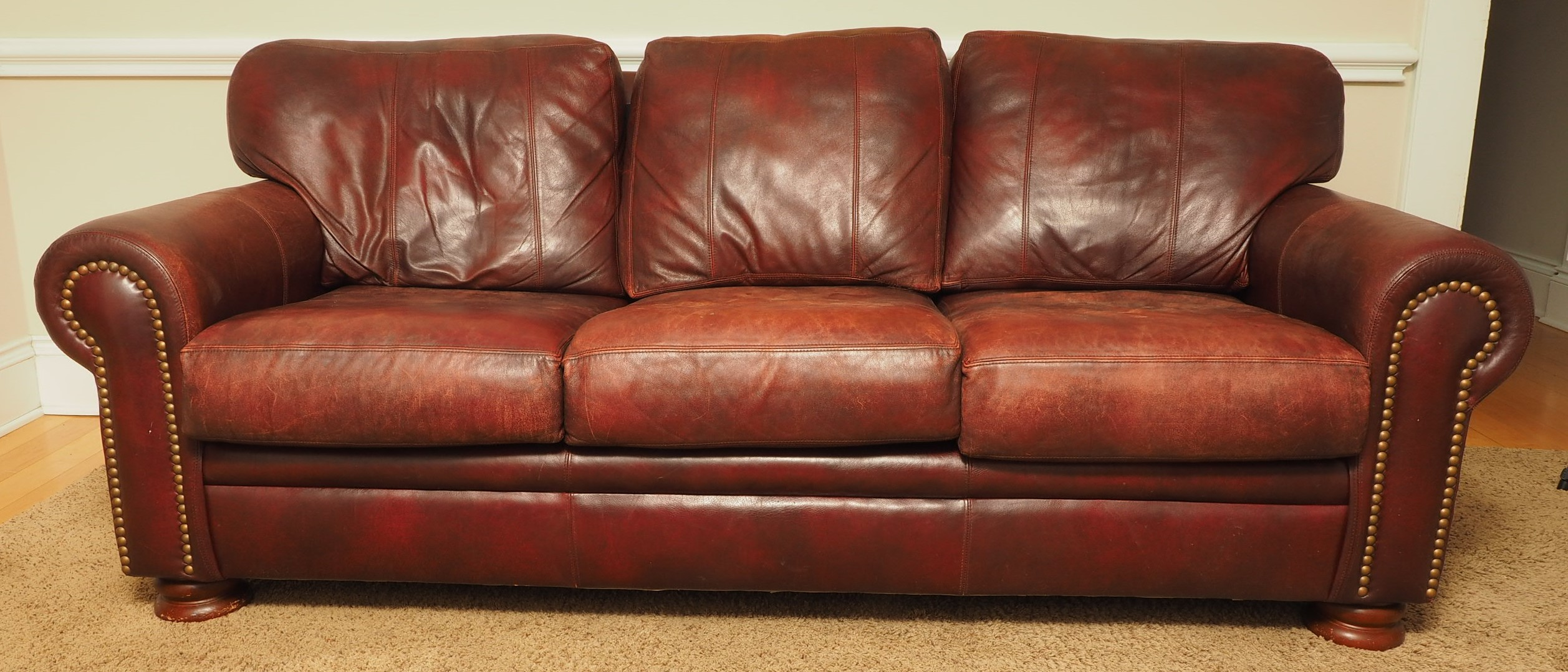 clean a leather sofa sleeper mattresses bradington young | black rock galleries