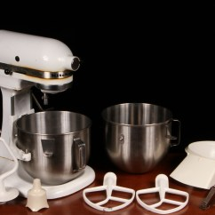 Kitchen Aid Mixing Bowls Eat In Table Vintage Kitchenaid Solid State Mixer Model K5ss By Hobart ...
