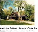 Creekside Cottage rental