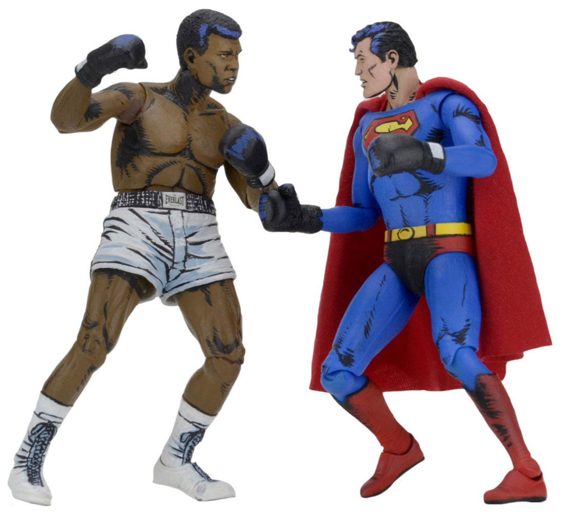 superman vs muhammad ali action figure