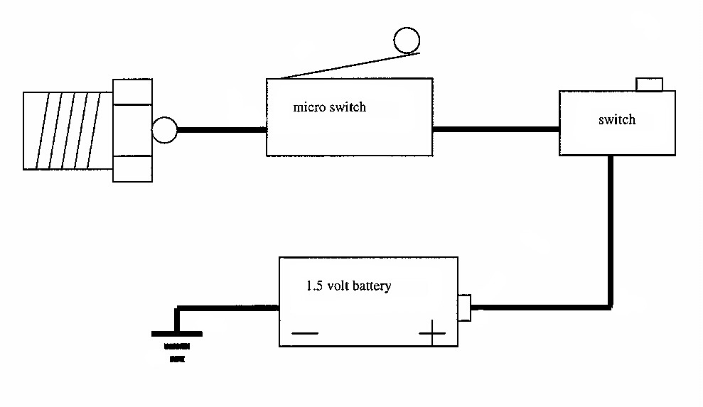 Click her for a larger view of a simple wiring diagram.