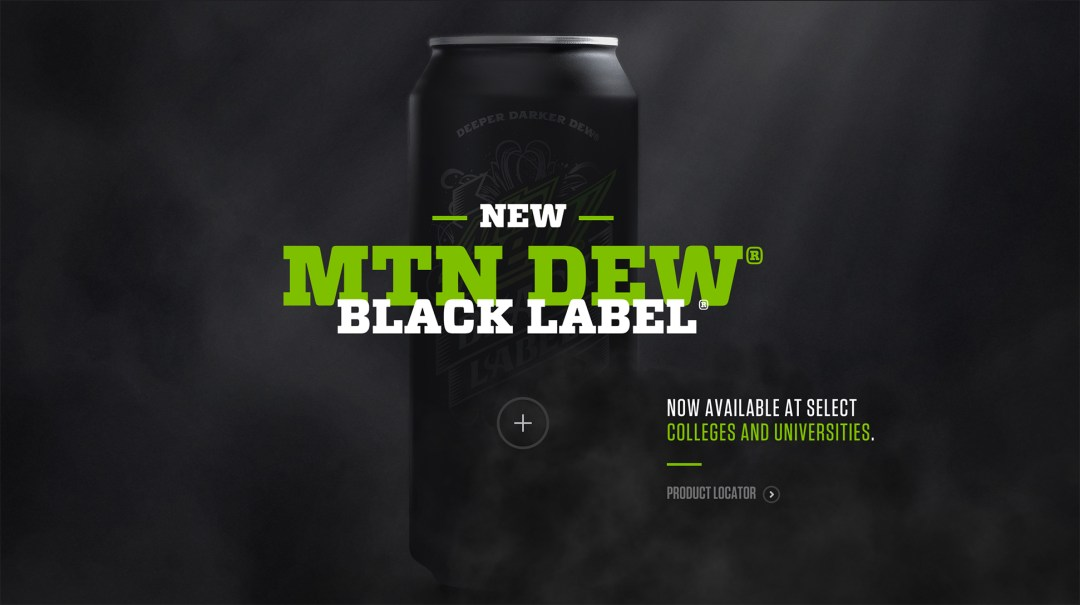 Mountain Dew – Black Label State College, PA