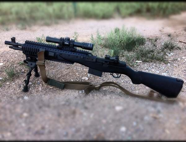 Springfield Armory M14 SOCOM II Photo Review
