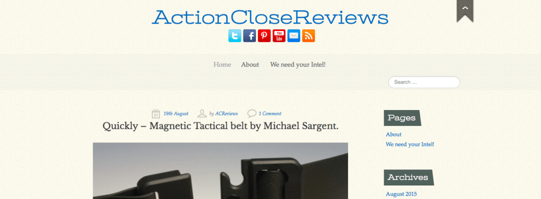 Best Tactical Gear Blogs