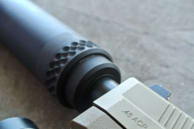 GEMTECH Blackside .45 Suppressor