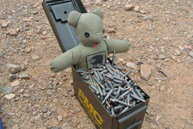 """""""Loadout"""" soaking in a Russian ammo bath while I burned up a $199 PT199 prototype suppressor!"""