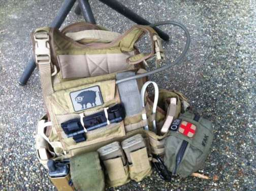 Operator Kit with a Black Sheep patch