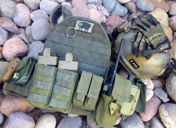 Raine Inc. BLACK Plate Carrier