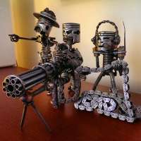 The Piston Head Army, Tactical Art That Will Blow Your Gasket!