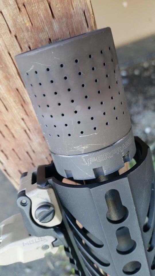 Ferfrans CQB Modular Muzzle Brake Review 7