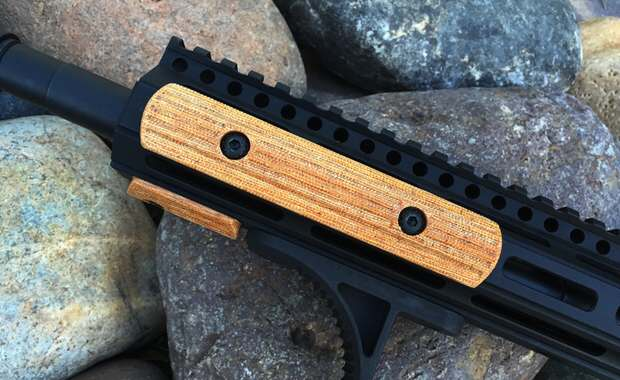 3 Slot Megiddo M-LOK Rail Cover