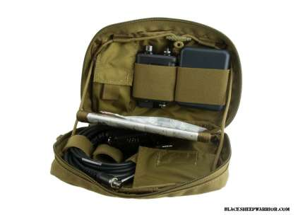 The Invisio V60 comes in a mil spec soft case that is molle compatible. Not sure what use it would be on an individual kit but hey it's a nice touch! Photo Credit: Blacksheepwarrior.com
