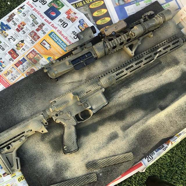 How to Paint your SBR Upper