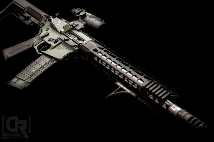Northtech Defense build with Fathom Arms BCG, Gripstop and Xtech Grip by Downrange Photography