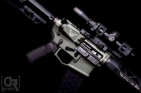 Northtech Defense build with Fathom Arms BCG and Xtech Grip by Downrange Photography