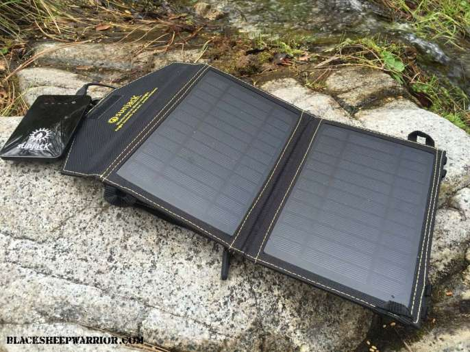SunJack 7W Solar Panel Charger